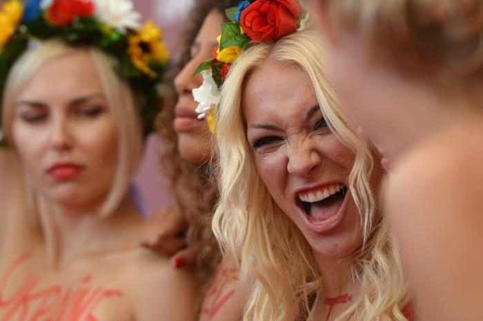 Femen   © GABRIEL BOUYS / Getty Images\
