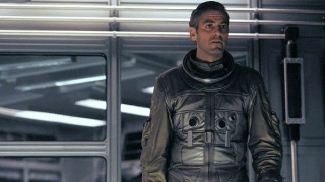 George Clooney in Gravity