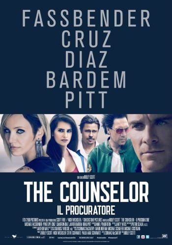 The Counselor - La locandina