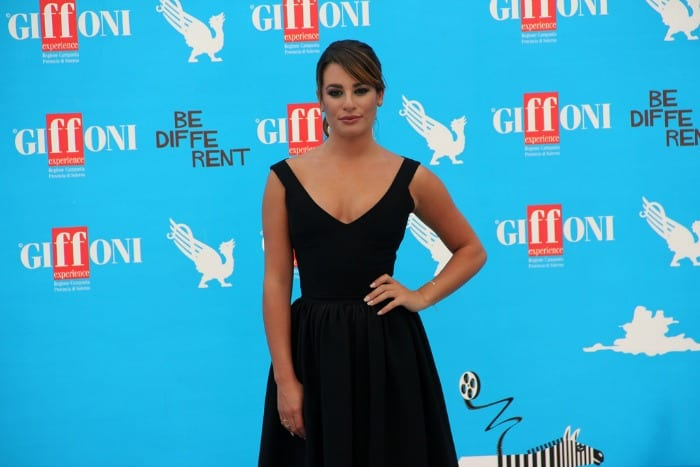 Lea Michele | © Giffoni Film Festival / Flickr