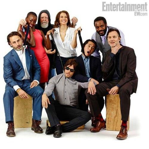 The Walking Dead, il cast per il Comic-Con |  EW
