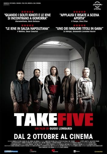 Take Five - Locandina
