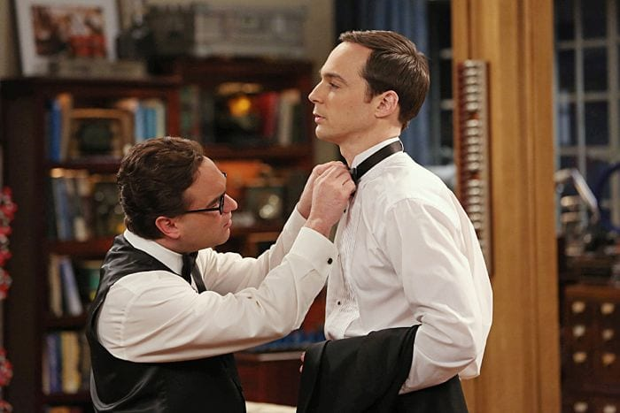 The Prom Equivalency - Leonard e Sheldon