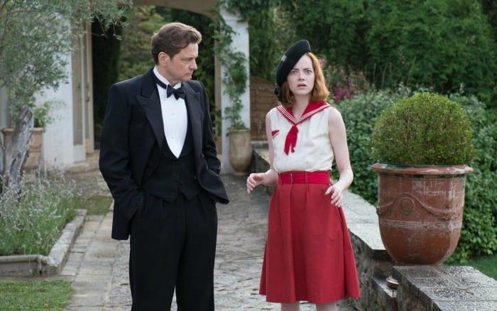 Colin Firth e Emma Stone