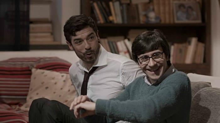 Alessandro Gassmann e Luigi Lo Cascio in una scena del film