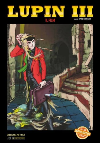 Lupin III - Poster limited edition