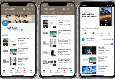 Apple, Cihazları Hakkında İpuçları Paylaşacağı YouTube Kanalını Açtı