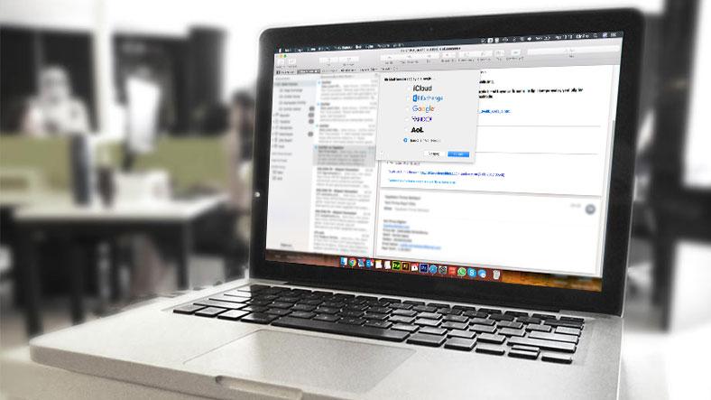 MacOS Mail Programı için Pop3 Mail Adresi Kurulum Yardım Dokümanı