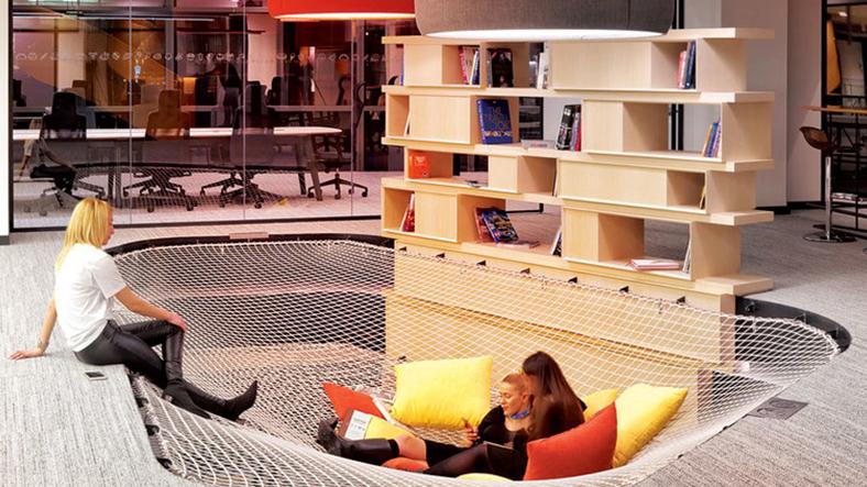 Karşınızda Google'ı kıskandıracak ofis (İstanbul'da açıldı)