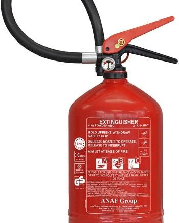ANAF FIRE EXTINGUISHER 4KG- ABC DRY POWDER