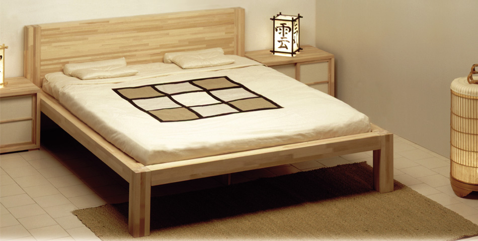 la structure lit consacree a ceux qui aiment les lignes epurees a ceux qui recherchent le necessaire dans la simplicite zen est compose d un cadre en
