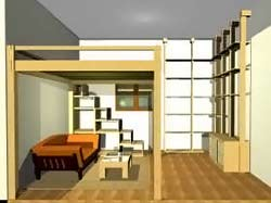 Cinius  Progetti Disegni di mobili letti a soppalco cabine armadio pareti scorrevoli e zone giorno