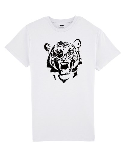 100% Organic Men T-shirt Tiger