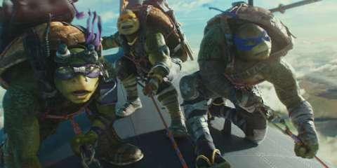 Teenage Mutant Ninja Turtles: Out of the Shadows - Ninja Turtles 2