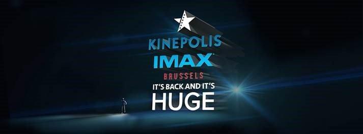 Kinépolis rouvre sa salle IMAX à Bruxelles