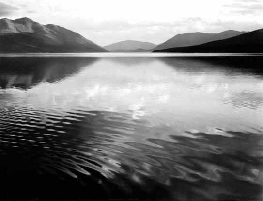 McDonald Lake di Ansel Adams