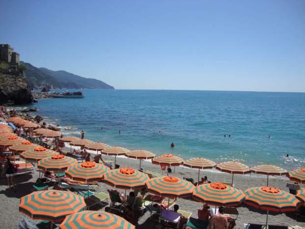 Plage Monterosso Cinq Terres