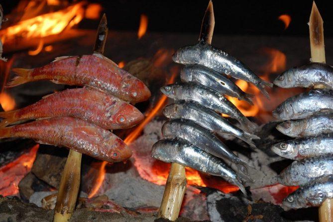 Anchois grillés au BBQ