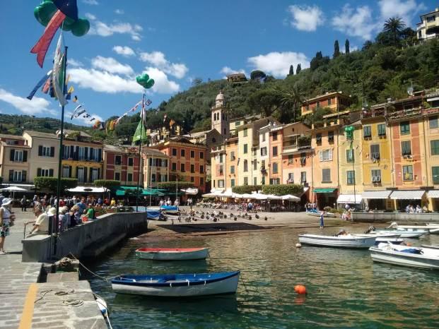 Place principale de Portofino