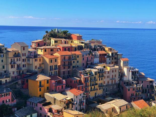 Maisons typiques des Cinque Terre