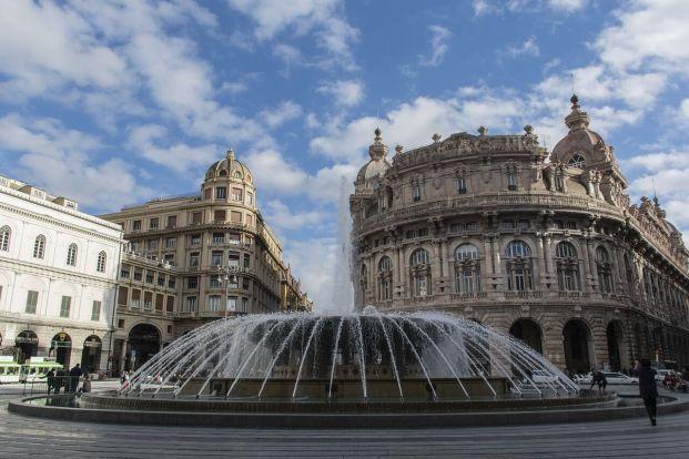 Place principale de Gênes