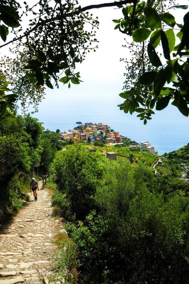 Sentier de randonnée Cinque Terre