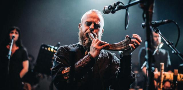 Chant viking, corne, concert, wardruna