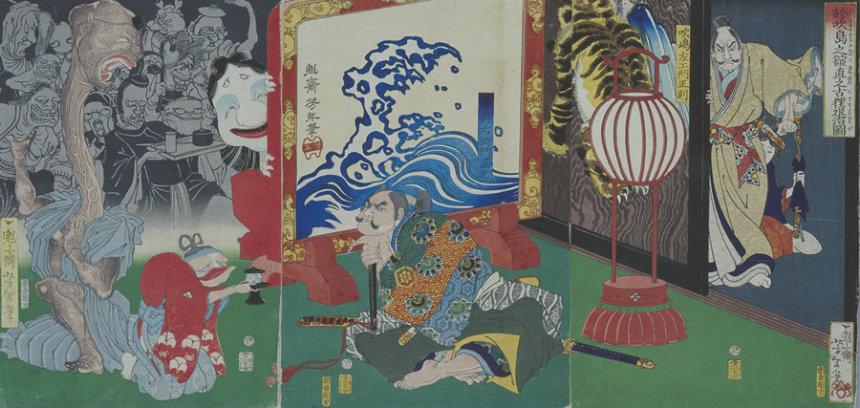江戸時代の怪異表現が集う『もののけの夏』展 國芳の浮世絵など100點 - アート・デザインニュース : CINRA.NET