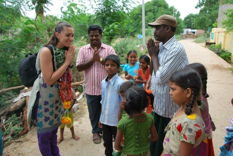 Cintia's Love in Action in India