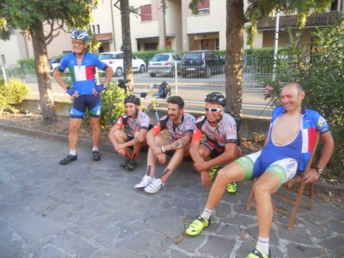 Facebike team: sempre sorridenti