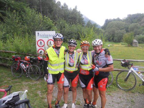 """Il """"team delle meraviglie"""" Facebike Team"""