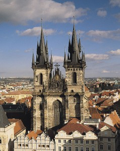 Praga, Chiesa Santa Maria di Tyn