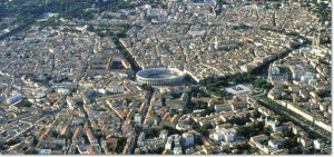 Nimes, centro storico