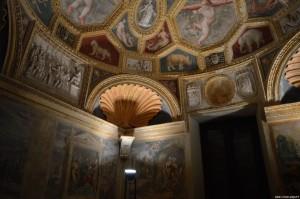 Sabbioneta, Palazzo Giardino, affreschi e decorazioni