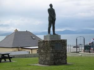 Ballyheigue, Irlanda, statua a Roger Casement