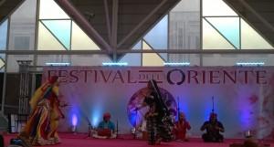 Festival dell'Oriente, Rajasthan, India, gruppo Dhoad
