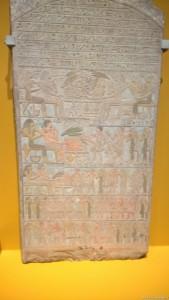 Bologna, Mostra Egizi, Stele di Antefiker