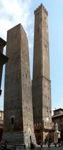Bologna, le due torri, Asinelli e Garisenda