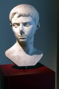 Busto del giovane Ottaviano