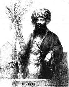 Giovan Battista Belzoni, esploratore e collezionista di antichità egizie