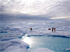 Mar Glaciale Artico emergenza riscaldamento aria
