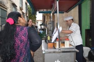 Cuba, L'Avana, food street
