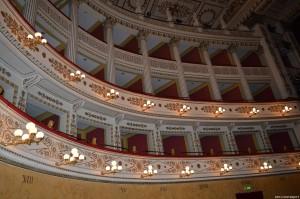 Fano, Teatro della Fortuna, palchi