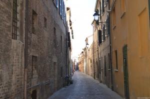 Fano, vicoli del centro storico