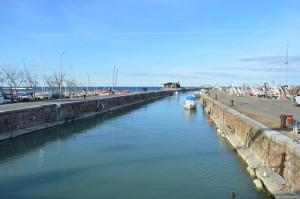 Fano, il porto-canale