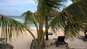 Messico, spiaggia vicino a Tulum