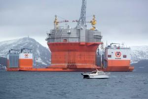 Goliat, la piattaforma petrolifera dell'ENI