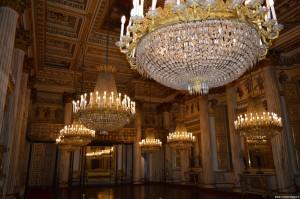 Palazzo Reale Torino, sala da ballo
