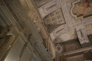 Palazzo Madama, decorazioni aula Senato