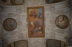 Reggia Venaria Reale, stucchi e dipinti
